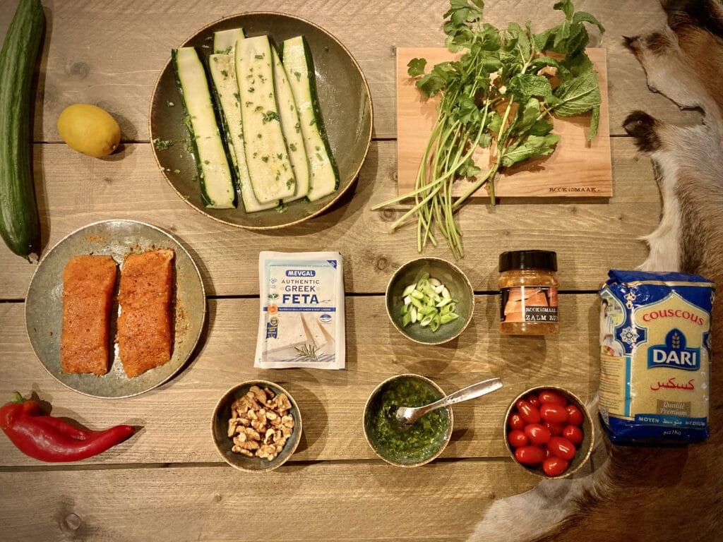ingredienten couscoussalade